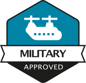 Rhopoint Military Approved Logo