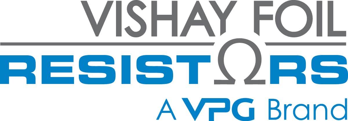 Vishay Foil Resistors Company Logo 2020